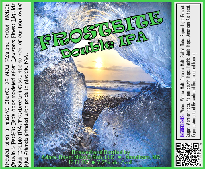 FROSTBITE Double IPA Bottle Label 4x3.3 inches 13 Iced Sunset.jpg