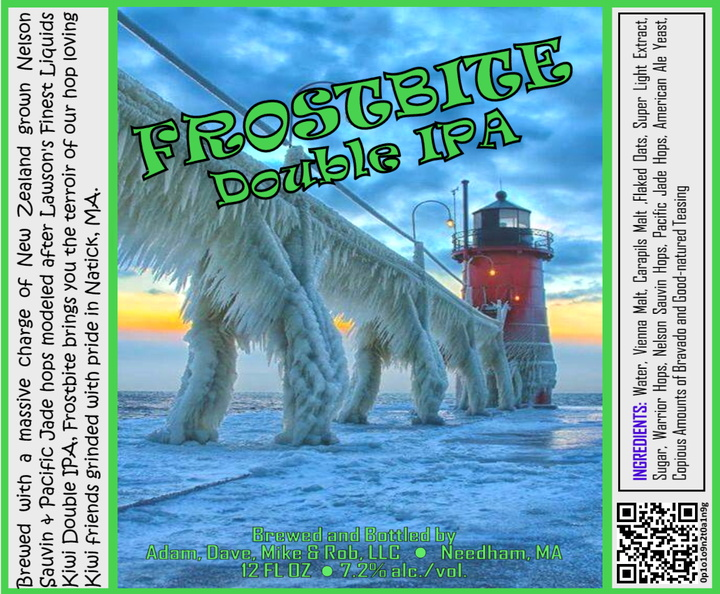 FROSTBITE Double IPA Bottle Label 4x3.3 inches 16 Lighthouse.jpg