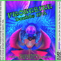 FROSTBITE Double IPA Bottle Label 4x3.3 inches 20 Orchid