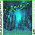 FROSTBITE Double IPA Bottle Label 4x3.3 inches 26 Trees Stars