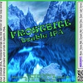 FROSTBITE Double IPA Bottle Label 4x3.3 inches 21 Pointy Mtn Lake